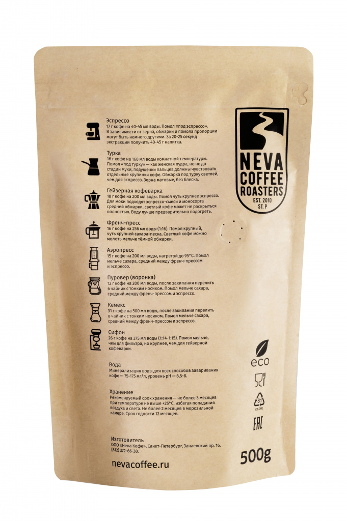 картинка Decaf от магазина Neva Coffee Roasters+